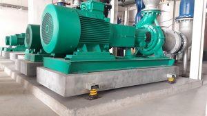 Виброизоляция инженерного оборудования