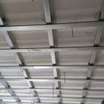 Второй уровень системы звукоизоляции потолка