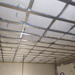 Шуманет-ЭКО - акустическая экологичная стеклоплита в системе звукоизоляции потолка.